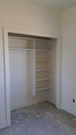 closet painted