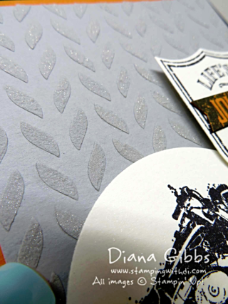 Embossing Paste with Wink of Stella Diana Gibbs