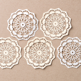 Lace Doilies INKcentive for March 2017