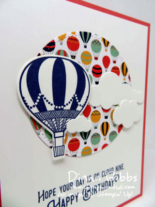 Lift Me Up Diana Gibbs Stampin' Up!