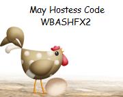 May Hostess Code Button
