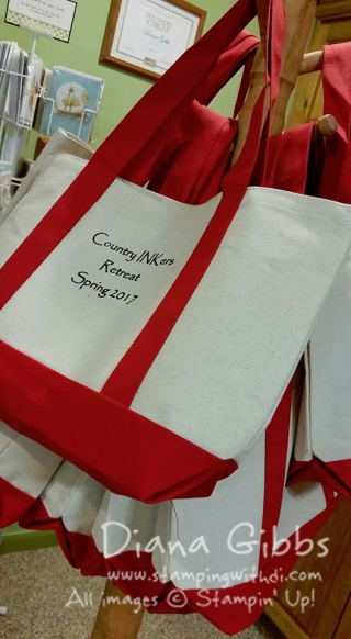 totes for Country INKers retreat 2017