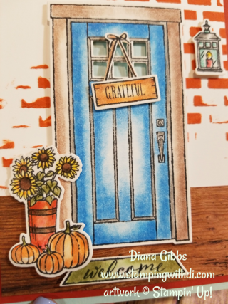 At Home With You Diana Gibbs Stampin' Up!