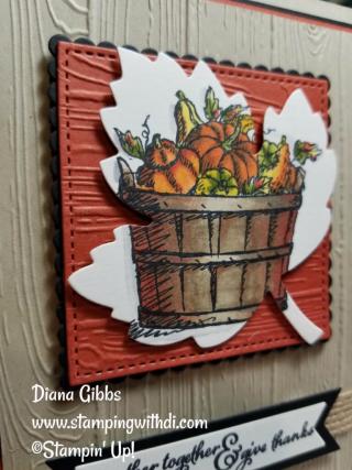 Basket of Wishes Leaf Diana Gibbs