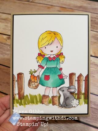 Garden girl and friend watermarked