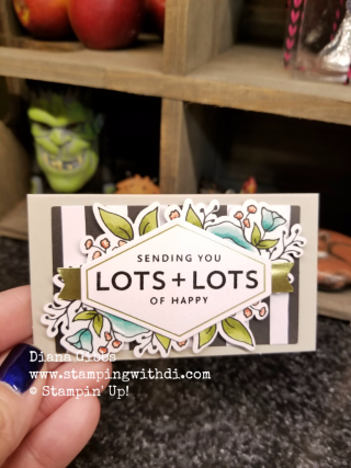 Lots and Lots of Happy Mini Card Diana Gibbs Stampin' Up!
