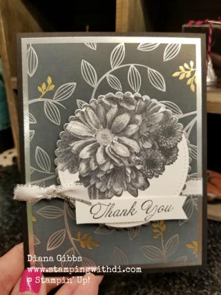 Heartfelt Blooms Diana Gibbs Springtime Foils Specialty DSP