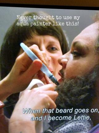Bearded lady