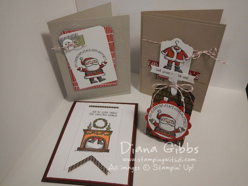 Class in the Mail - Get Your Santa On