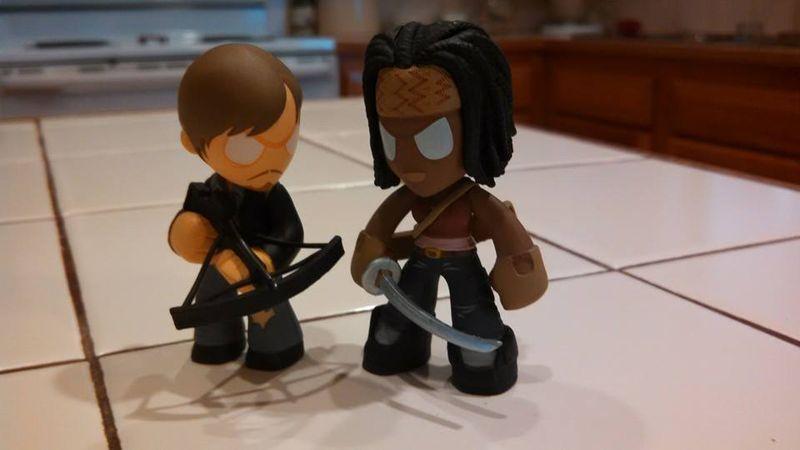Daryl & Michonne TWD