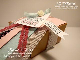 Spring Fling Diana Gibbs Stampin' Up! Artisan Embellishments Kit copy