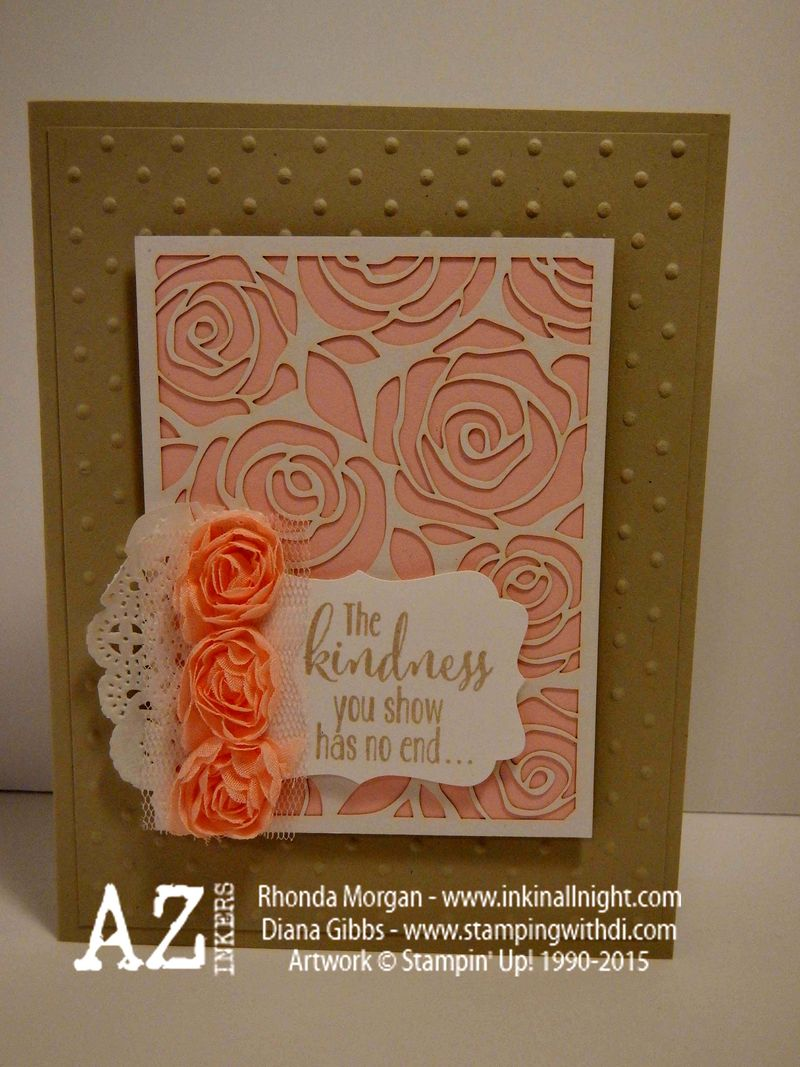 Spring Fling Stampin' Up! Diana Gibbs Artisan Embellishment Kit