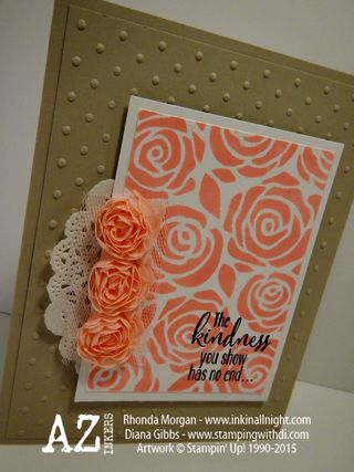Artisan Embellishment Kit Diana Gibbs Stampin' Up!