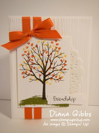 Sheltering Tree Diana Gibbs Stampin' Up! Class in the Mail