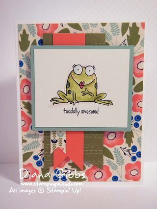 You're Sublime Stampin' Up! Diana Gibbs