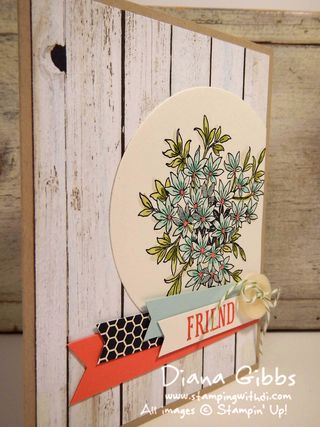 Awesomely Artistic Diana Gibbs Stampin' Up! LeAnne Pugliese inspired