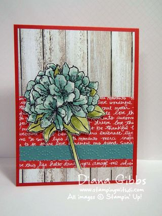 Best Thoughts Hostess Diana Gibbs Stampin' Up!