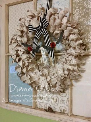 Diana Gibbs Season to Season Wreath Halloween done