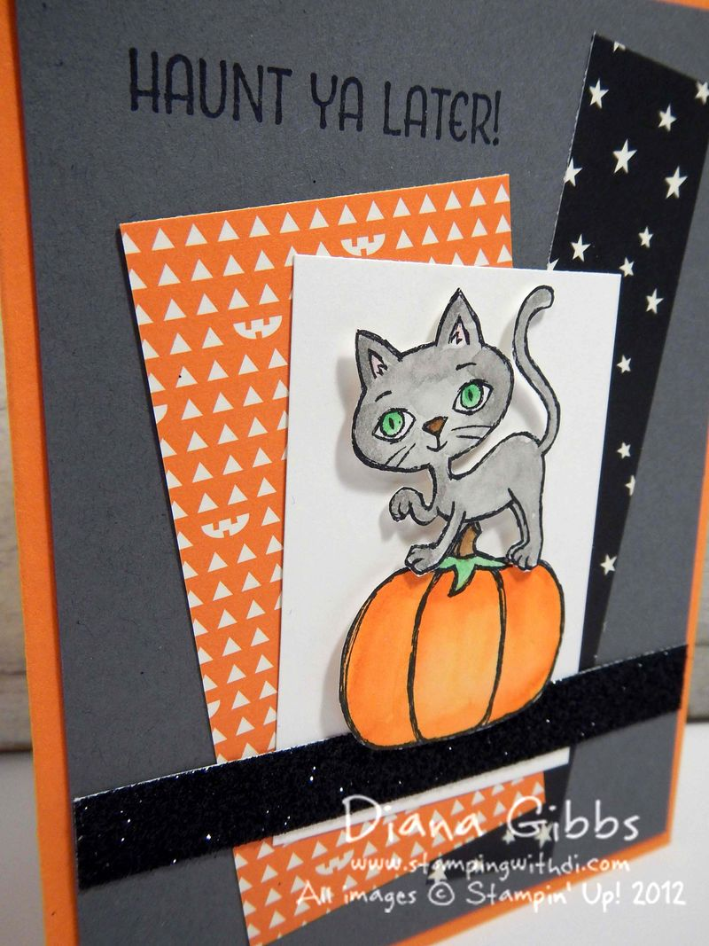 Haunt Ya Later Class in the Mail Diana Gibbs Stampin' Up!