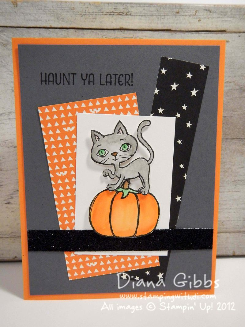 Haunt Ya Later Diana Gibbs Stampin' Up! Connie Babbert case