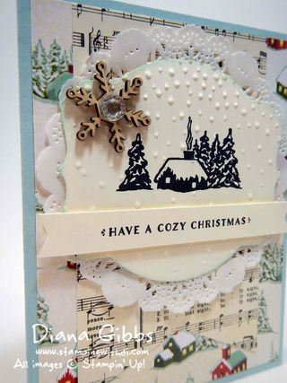 Cozy Christmas Diana Gibbs Stampin' Up! DiVa Day