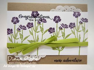 Wild About Flowers New Adventure Diana Gibbs Stampin' Up!