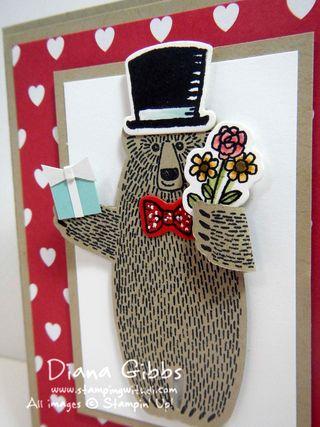 Bear Hugs Tiffany Diana Gibbs Stampin' Up!