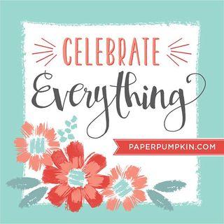 Paper pumpkin celebration