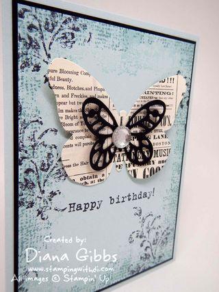Bold Butterfly Framelits Diana Gibbs Stampin' Up!