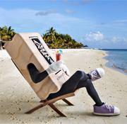 Retired beach chair