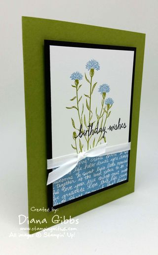 Wild About Flowers, Diana Gibbs Stampin' Up!