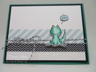 Love you Lots Frog to Lizard Diana Gibbs Stampin' Up! Hostess set