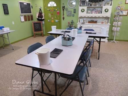 Make n takes n lunch june 2016 room set up