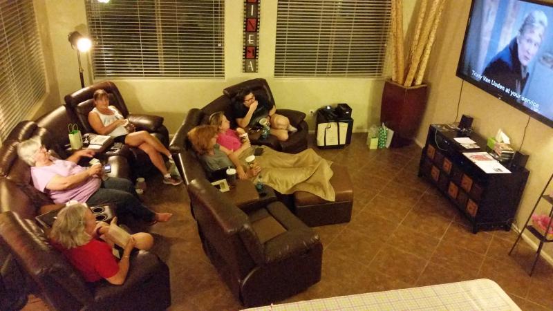 Watching movies retreat 2016