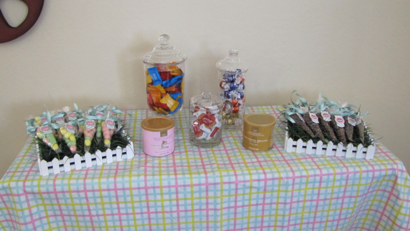 Retreat candy table