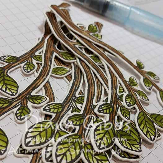 Best Birds branches Diana Gibbs Stampin' Up!