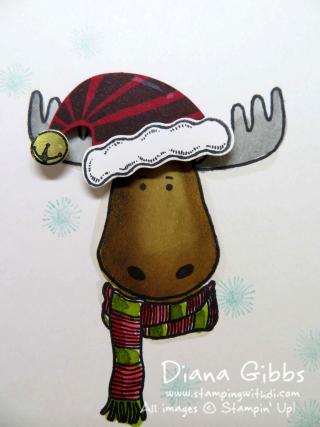 Jolly Friends Moose Diana Gibbs Stampin' Up!