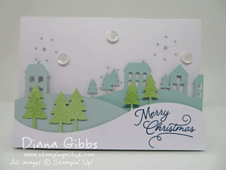 Paper Pumpkin November 2016 Diana Gibbs Stampin' Up!