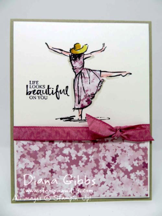 Blooms & Bliss & Beautiful You Stampin' Up! Diana Gibbs Occasions Catalog