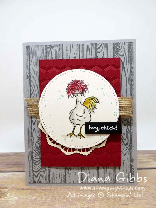 Hey, Chick Diana Gibbs Sale-A-Bration  Terri Allen Case