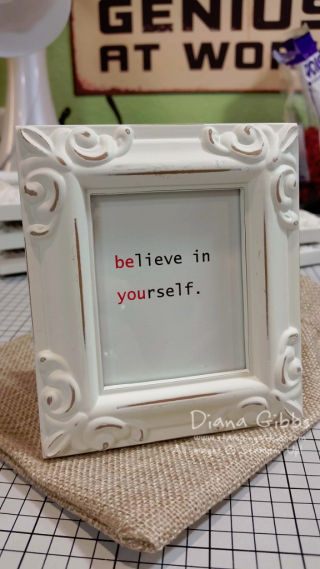 Be You frame for Country INKers Retreat Diana Gibbs
