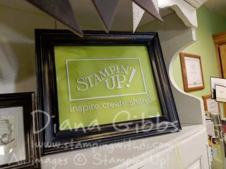 Stampin Up Decor Element Diana Gibbs
