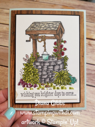 Bright Wishes Diana Gibbs Stampin' Blends www.stampingwithdi.com