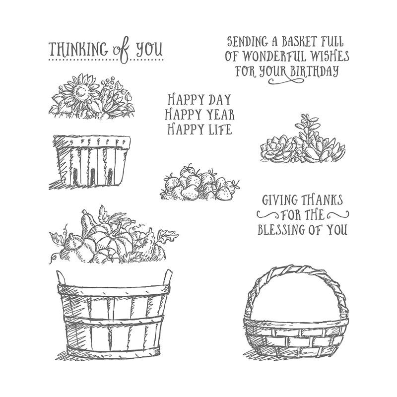 Basket of Wishes Stamp Set