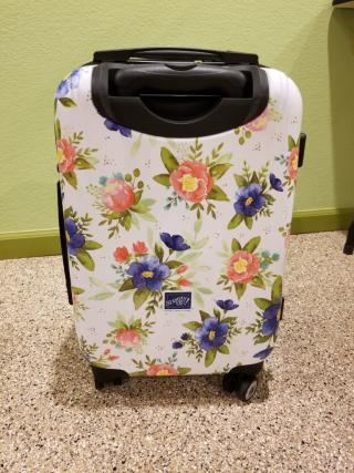 Suitcase backside Diana Gibbs