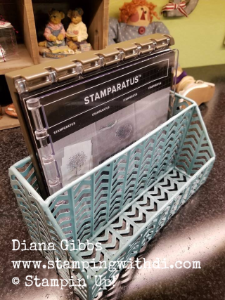 Stamparatus holder TJ Maxx Desk organizer Diana Gibbs