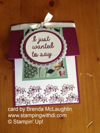 Love What You Do Brenda McLaughlin www.stampingwithdi.com