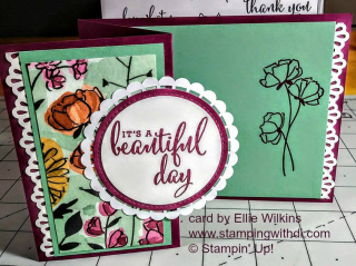 Love What You Do Ellie Wilkins www.stampingwithdi.com