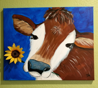 Finished cow