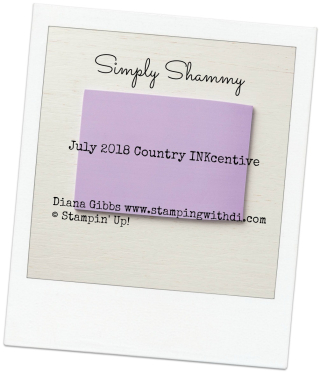 Simply Shammy Country INKcentive July 2018